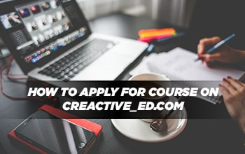 How to Apply for Course on Creactive-ed.com