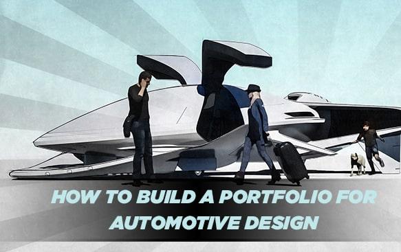 How To Build A Portfolio For Automotive Design Blogs Creactive