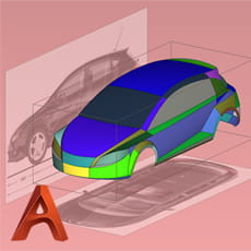 Autodesk Alias CAS (computer aided styling)