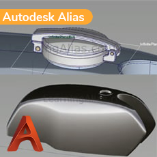MOTORCYCLE TANK 3D MODELLING IN ALIAS